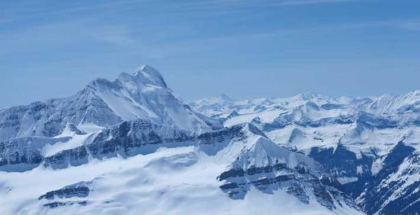 The impressive Mount Bryce
