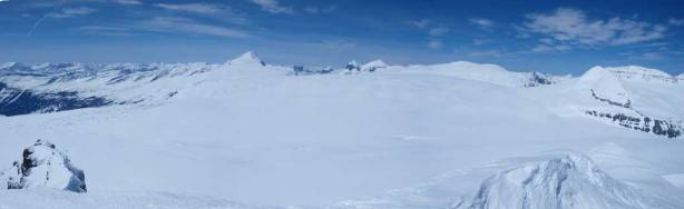 Panorama of Columbia Icefield