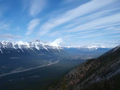 Morning view of Bow Valley