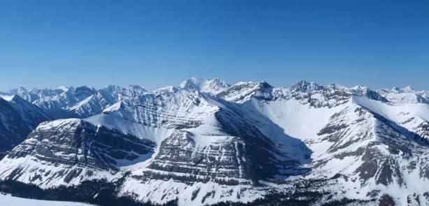 In the distant is Mount Balinhard