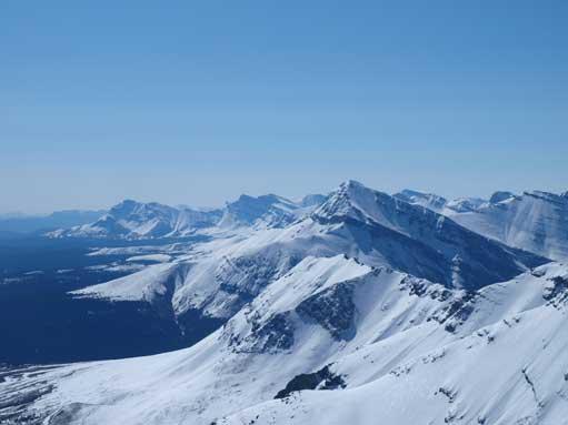 Zooming-in towards Mount MacKenzie