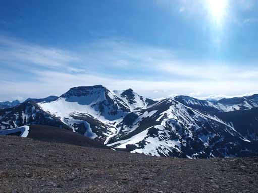 Mount Howard was still snowy