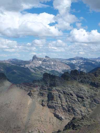 Castle Peak and Windsor Mountain