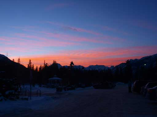 This is from Banff townsite