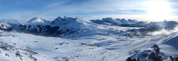 Panorama of Sunshine area.