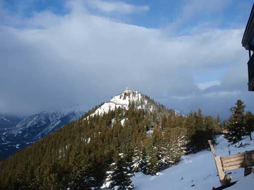 Sanson's Peak from the Gondola station