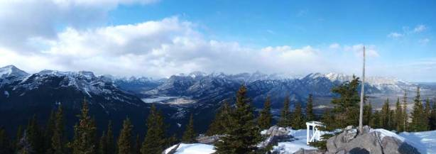 Panorama of Bow Valley