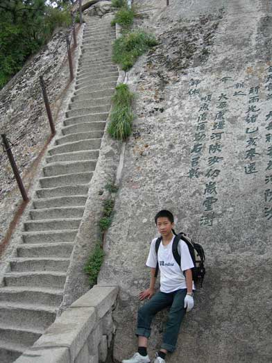 More steep staircases like this