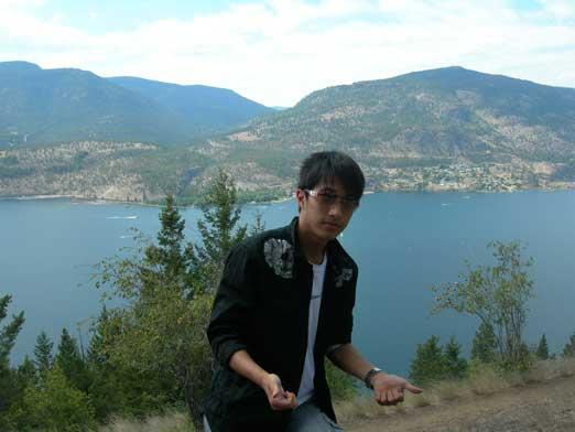 Me on Knox Mountain
