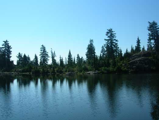 Mystery Lake again