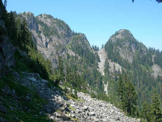 Mount Seymour and Runner Peak