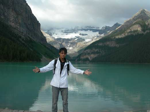 Me and Lake Louise