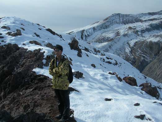 Me near the summit