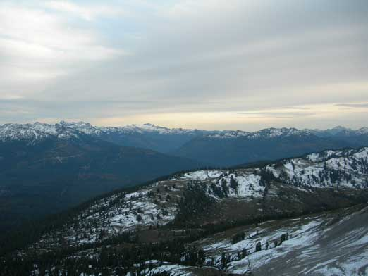 Looking over Paul Ridge (in the foreground)