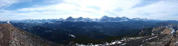 Summit panorama looking towards High Rock Range