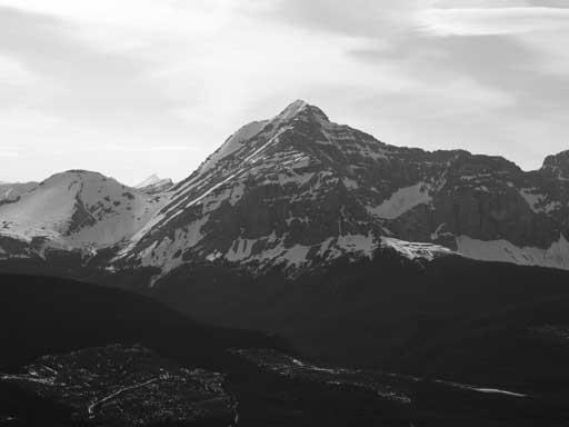 Tornado Mountain is the highest in High Rock Range