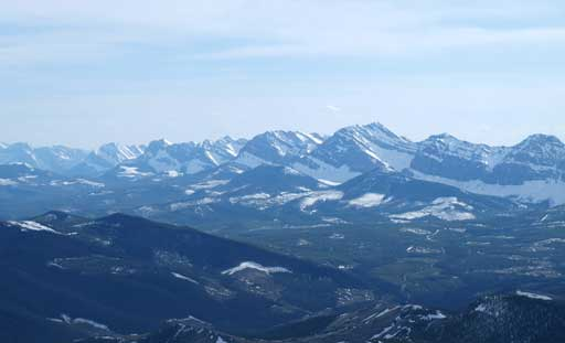The southern High Rock Range
