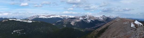 Plateau Mountain and Hailstone Butte