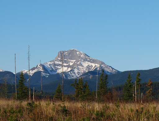 An unnamed peak north of Kephala, seen from the drive in