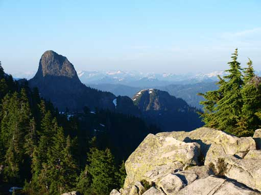 East Lion seen from the south summit
