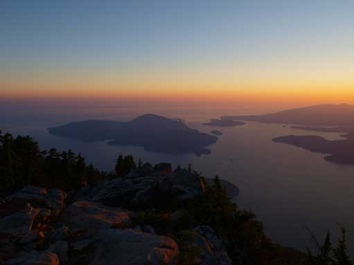 Bowen Island and Howe Sound