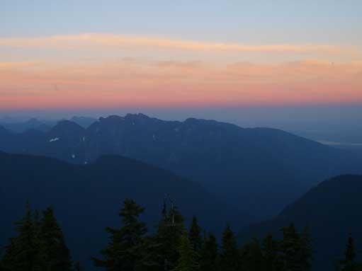 Grouse Mountain to Crown Mountain group