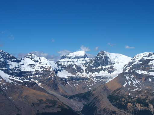 Mount Alberta, the most difficult mountain
