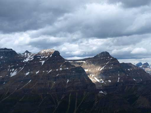 Mount Whyte and Mount Niblock