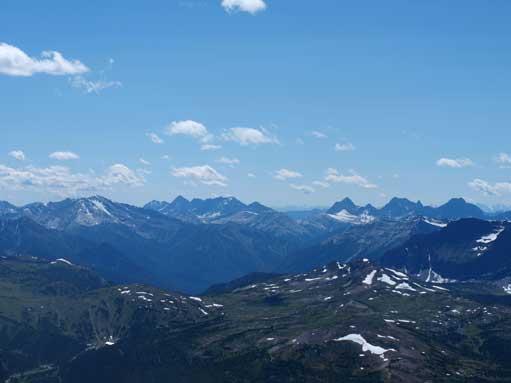 More peaks in Kootenay Park