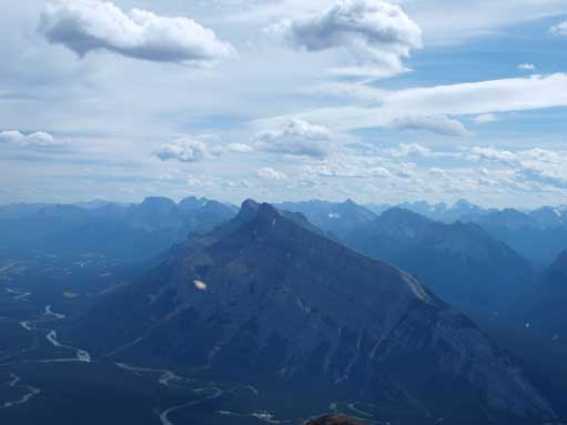 Mount Rundle, which I'll do the day after.