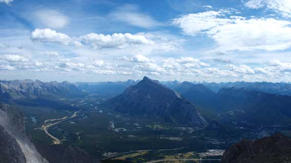 Mount Rundle and Bow Valley