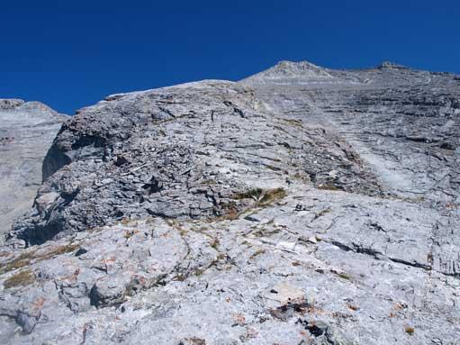 Slabby terrain ahead