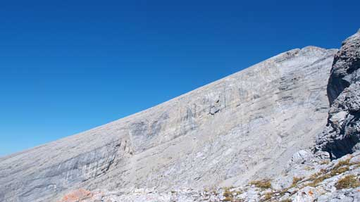 The slope on Rundle's 1st peak.