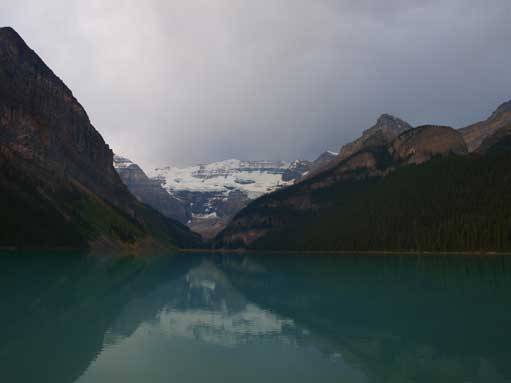 A classic shot of Lake Louise