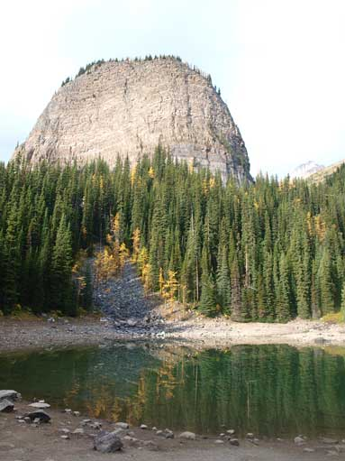 The Beehive and Mirror Lake