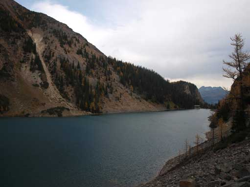 Lake Agnes from Beehive trail