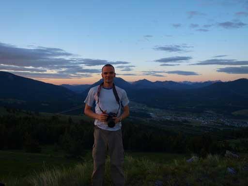 Ben near the summit