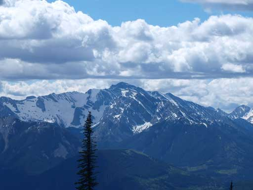Mount Ptolemy is the highest in Flathead Range