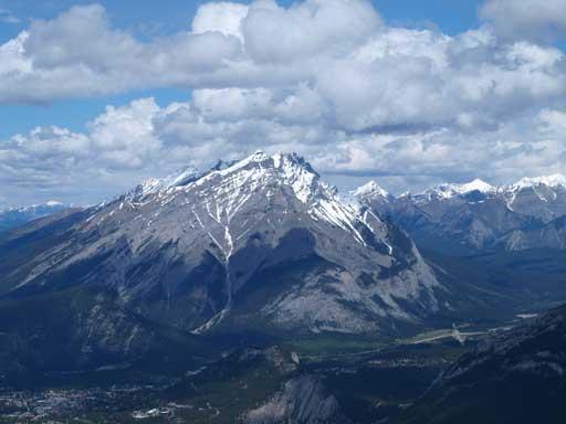 Cascade Mountain, a classic Banff scramble