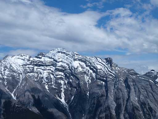 True summit of Rundle