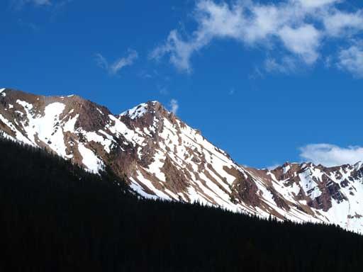 One of the many, many unnamed summits