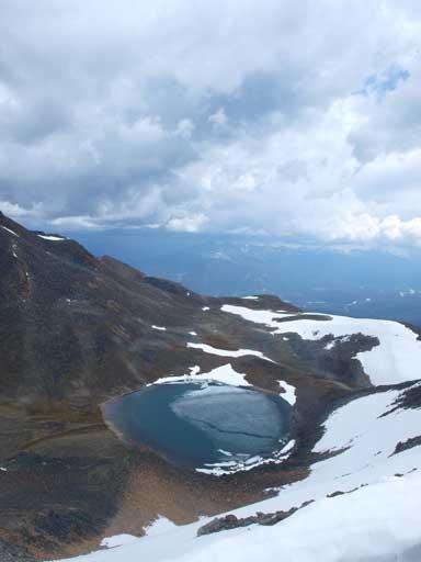 An alpine tarn