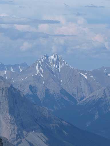 Zooming-in towards Whitecap Mountain
