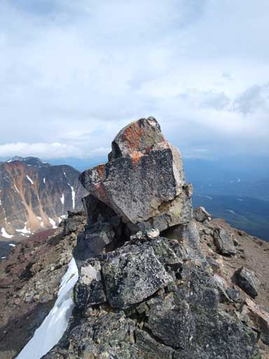This is the true summit pinnacle.
