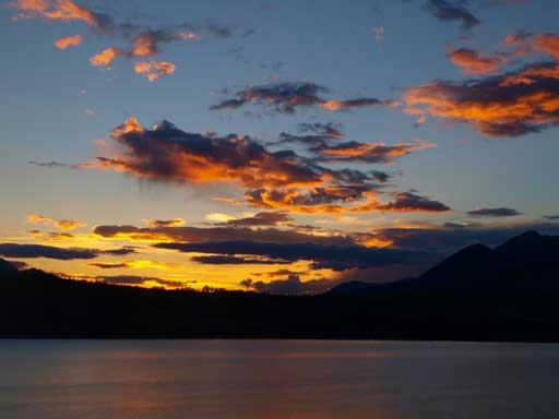 Dusk over Jasper Lake