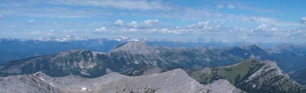 Looking over Mount Erickson and Erickson Ridge