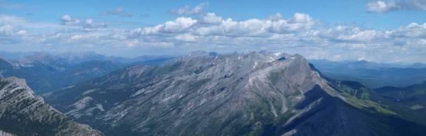 Looking north towards High Rock Range
