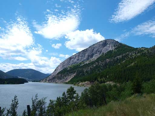 Crowsnest Ridge and Crowsnest Lake
