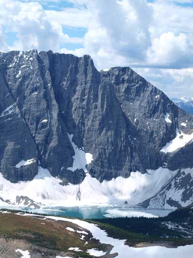 Floe Lake and Floe Peak