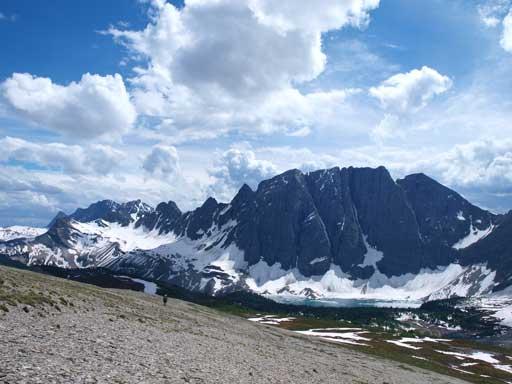 Another shot of Floe Peak